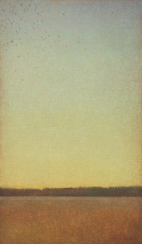 David Grossmann, Green Sky with Birds