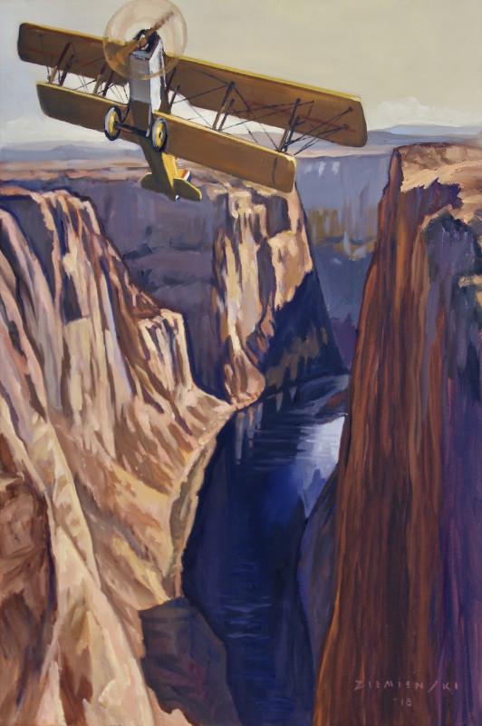 Dennis Ziemienski, Ascent From the Gorge
