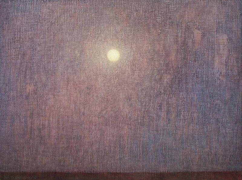 David Grossmann, Night with Full Moon