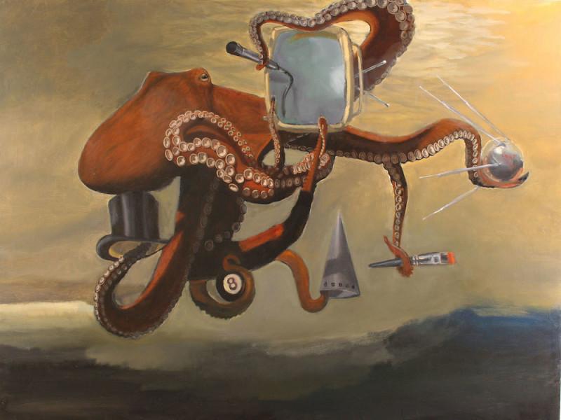 Robert McCauley, Aquarium Glass, Multitasking