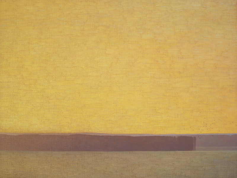 David Grossmann, Glowing Golden Sky