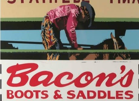 Billy Schenck, (Bacon's) Boots and Saddles #69/75, c.1981
