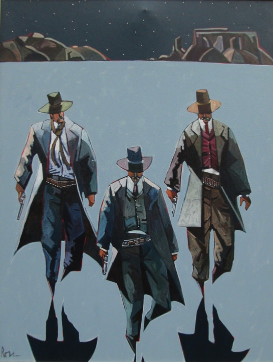Thom Ross, Walking After Midnight