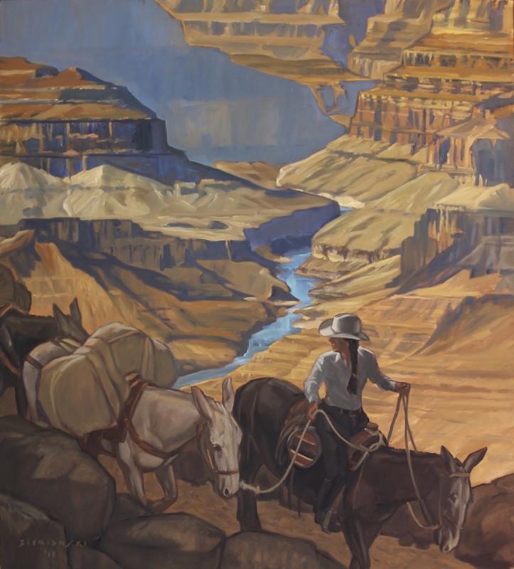 Dennis Ziemienski, Mule Train to Phantom Ranch