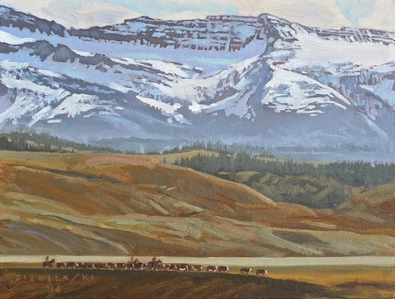 Dennis Ziemienski, Wind River Round-Up