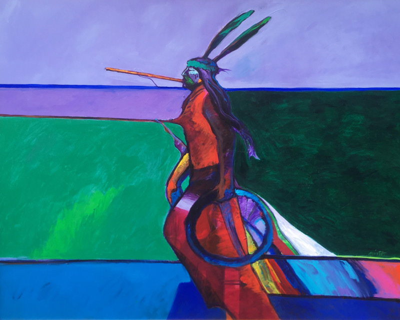 John Nieto, Sioux Sun Dancer