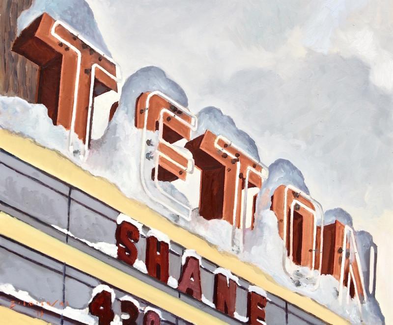 Dennis Ziemienski, Snow-capped Teton