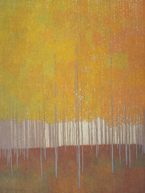 David Grossmann, Sky Patches Through Late Autumn Leaves