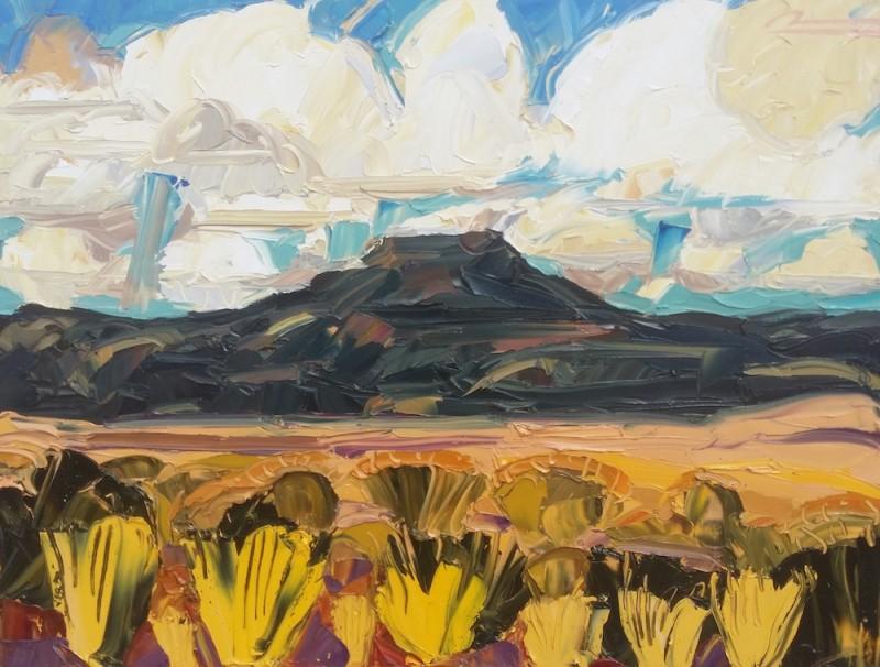 Mateo Romero - Tsi Ping/ Flint Mountain #1