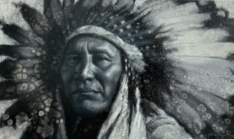 David Frederick Riley, Blackfoot