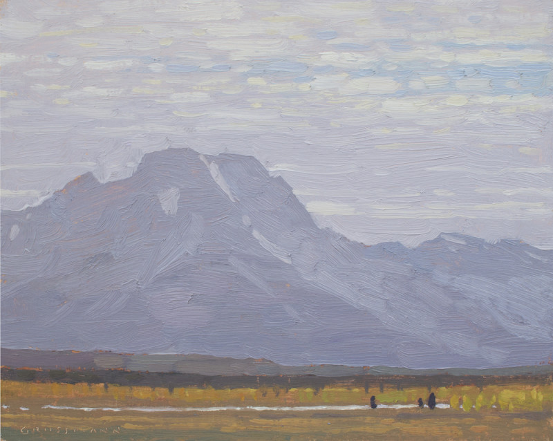 David Grossmann, Mount Moran in September