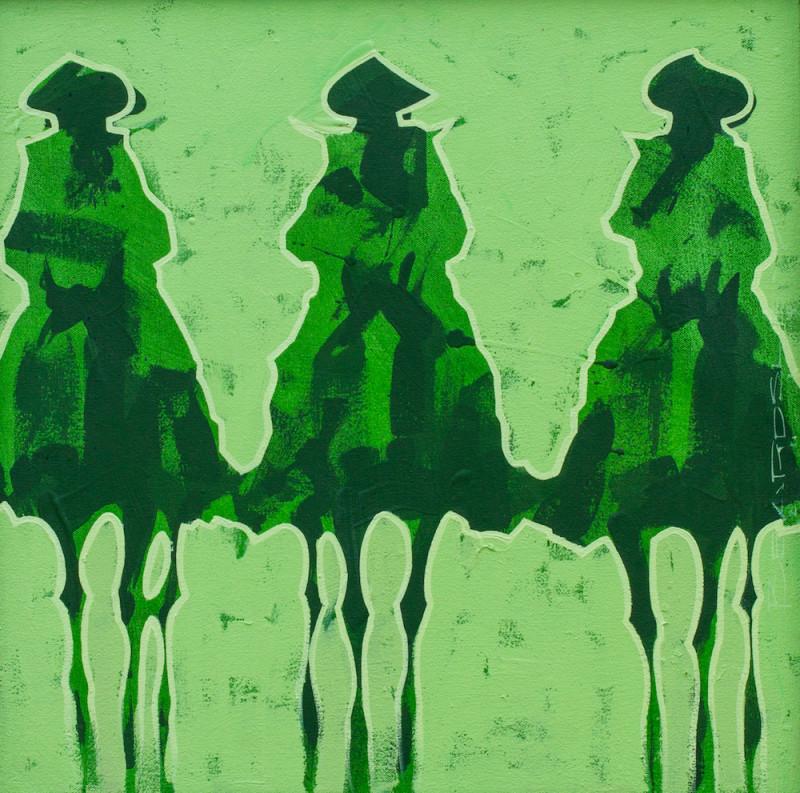 Duke Beardsley, Bocados: Verde