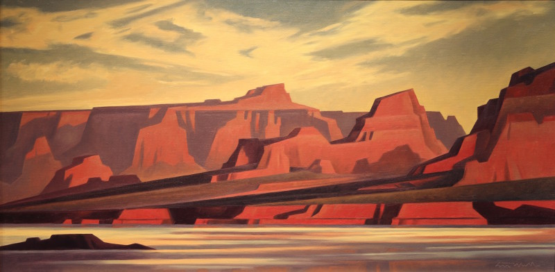 Ed Mell, Morning Light, Lake Powell