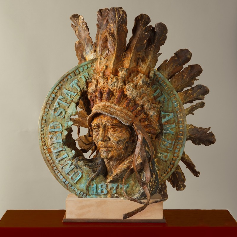 Greg Woodard, Indian Head Penny