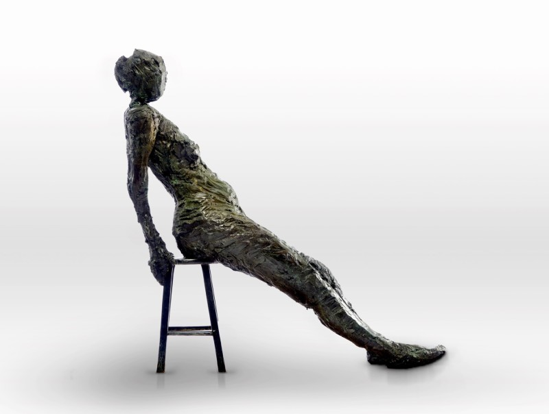 Emilio DiIorio, Rachel Seated No. 1, 2016