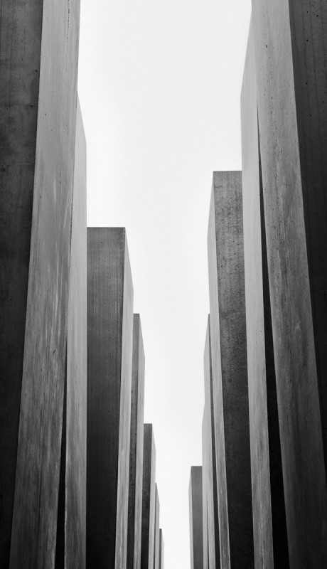 HOLOCAUST MEMORIAL I, FROM THE BERLIN SERIES, 2010