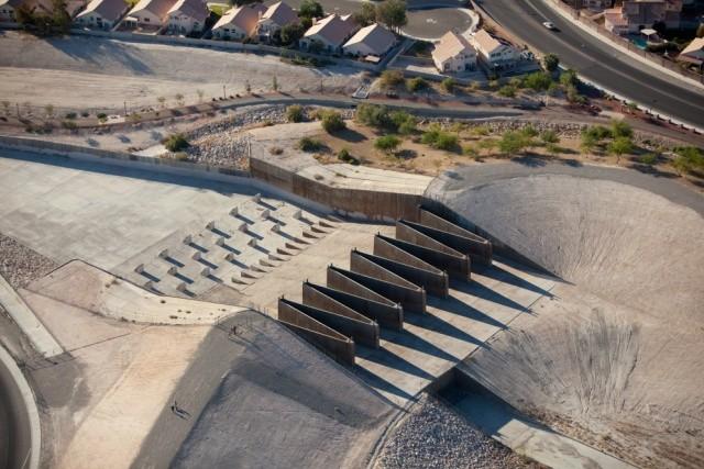 STORM WATER DRAINAGE, LAS VEGAS, NEVADA, USA, 2009