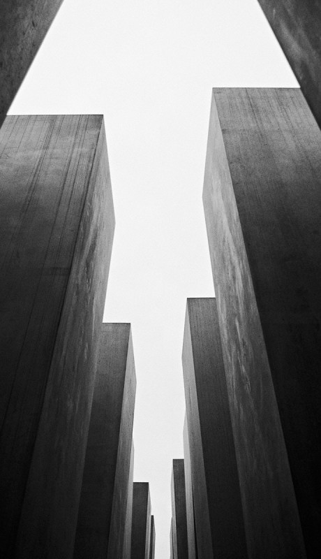 HOLOCAUST MEMORIAL III, FROM THE BERLIN SERIES, 2010