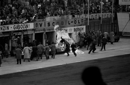 FERRARI FIRE, NURBURGRING, 1960