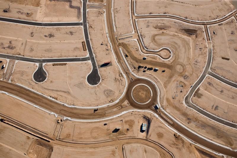 HIERARCHY OF ROADS, GOODYEAR, ARIZONA, USA, 2004