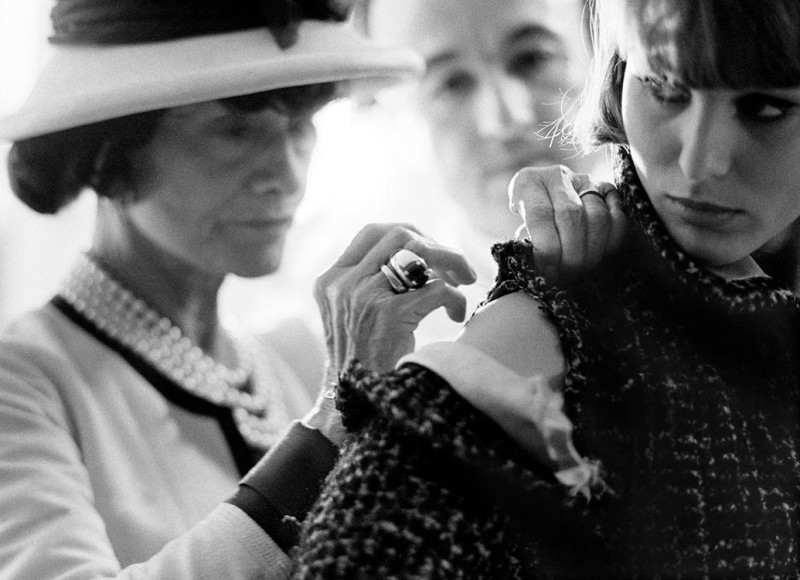 COCO CHANEL, PARIS, 1962
