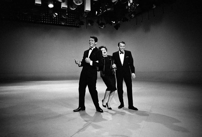 DEAN MARTIN, JUDY GARLAND AND FRANK SINATRA, HOLLYWOOD, 1961