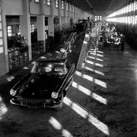 FERRARI FACTORY, MARANELLO, 1957