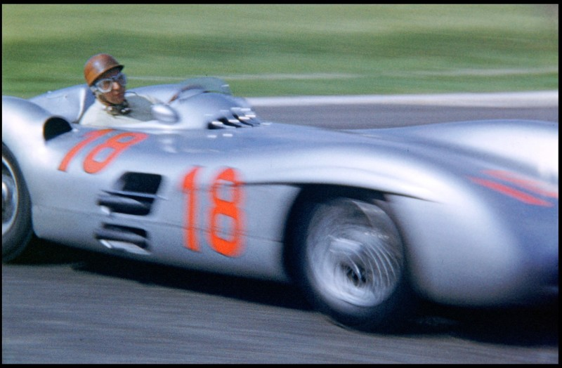 FANGIO, MERCEDES, REIMS, 1954