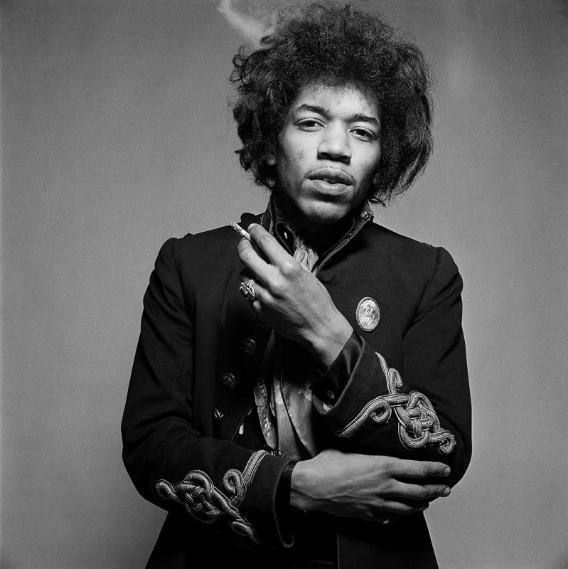 JIMI HENDRIX, MORE SMOKE, LONDON, 1967