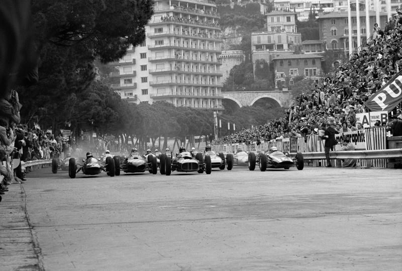 START, MONACO, 1962