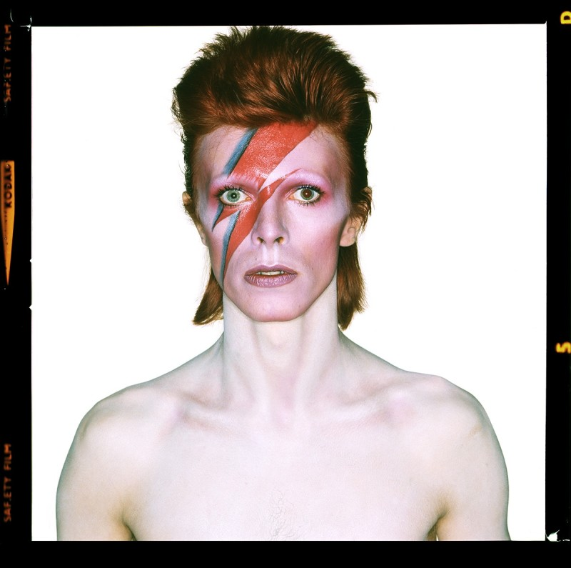 DAVID BOWIE AS 'ALADDIN SANE', 1973