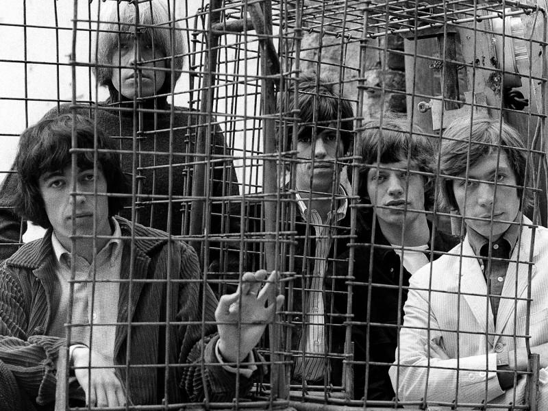 CAGED, ORMOND YARD, LONDON, 1965