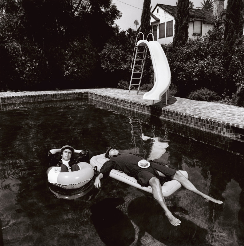 PETER COOK & DUDLEY MOORE, BEVERLY HILLS, 1975