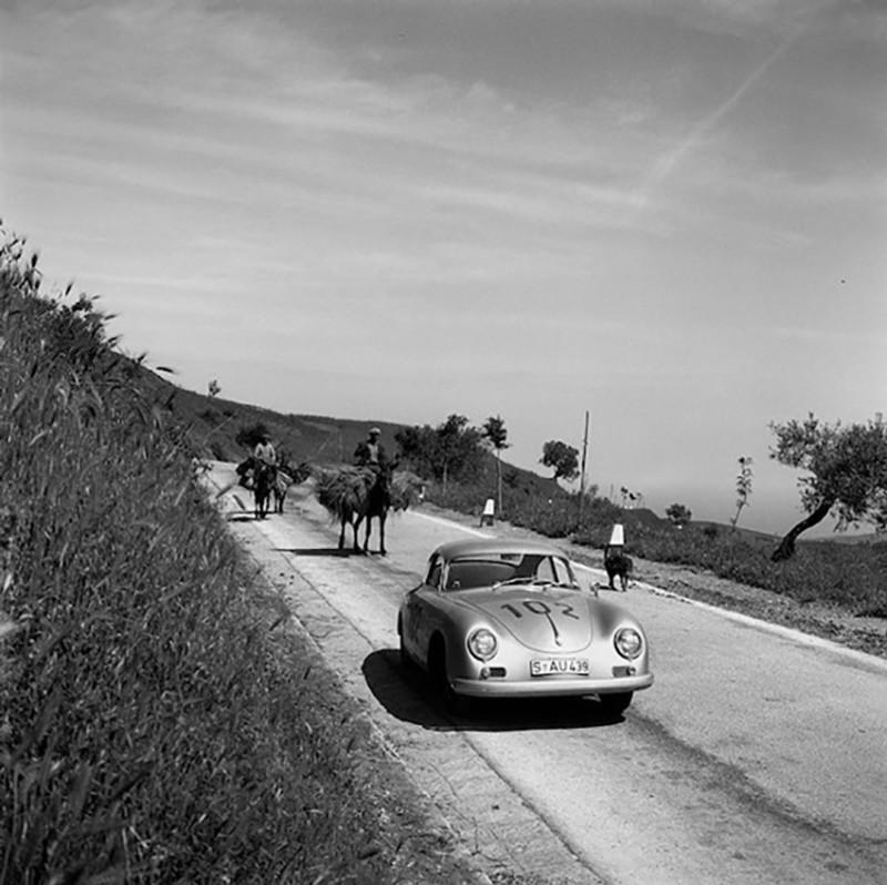 PORSCHE 356 CARRERA, CLASS WINNING, TRGA FLORIO, ITALY, 1958