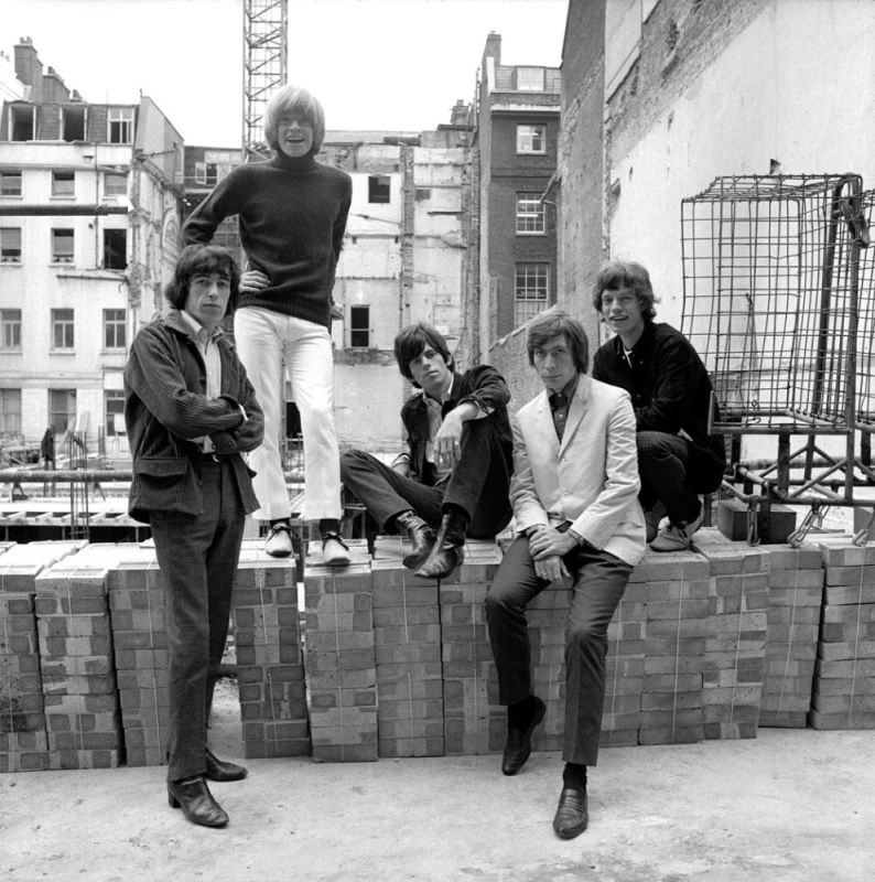 ON THE WALL, ORMOND YARD, LONDON, 1965