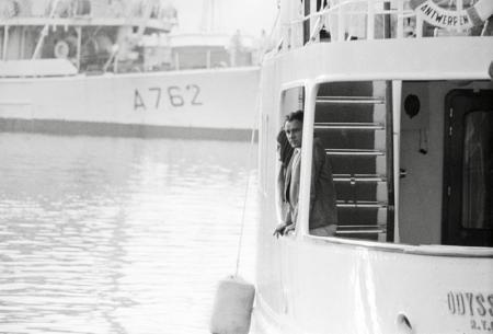 RICHARD BURTON AND ELIZABETH TAYLOR ON BOARD ODYSSEIA, SOUTH OF FRANCE, 14TH MAY, 1967