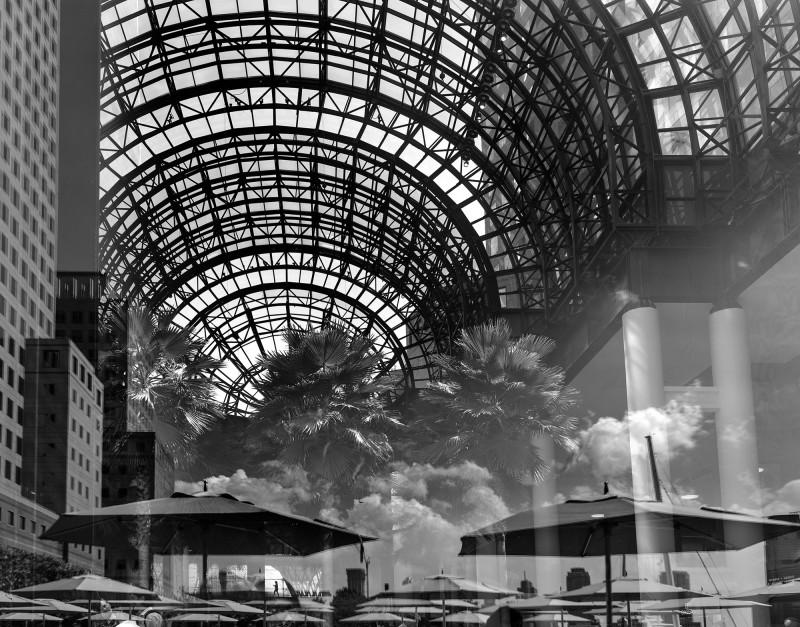 REFLECTION, REFLECTION, BROOKFIELD PLAZA, NEW YORK, 2015