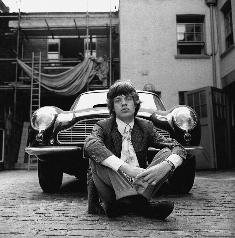 MICK AND ASTON, LONDON, 1966