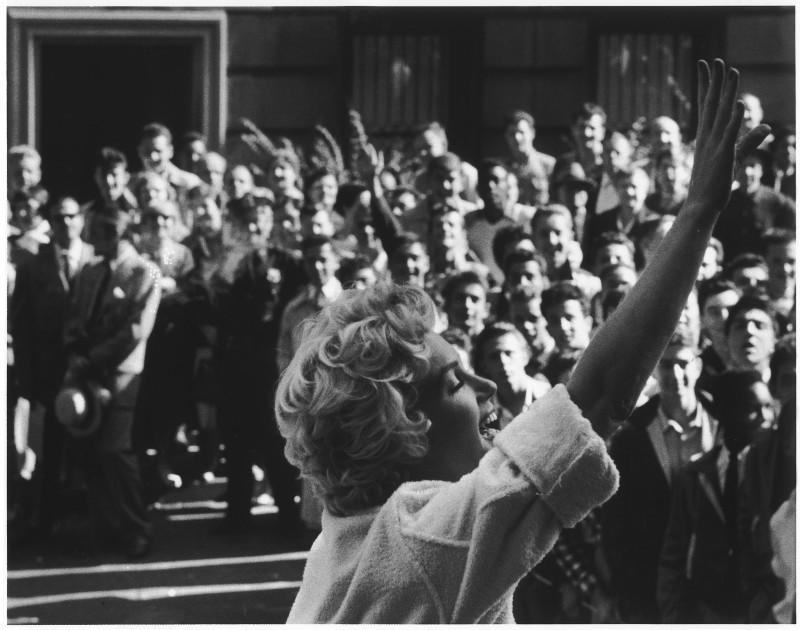 MARILYN MONROE, NEW YORK, 1956