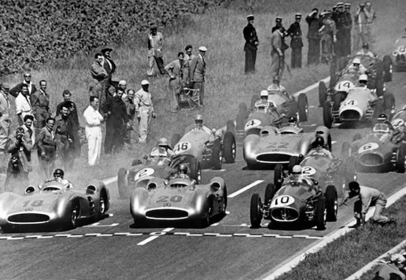 1954 START, COURTESY MERCEDES-BENZ, 1954