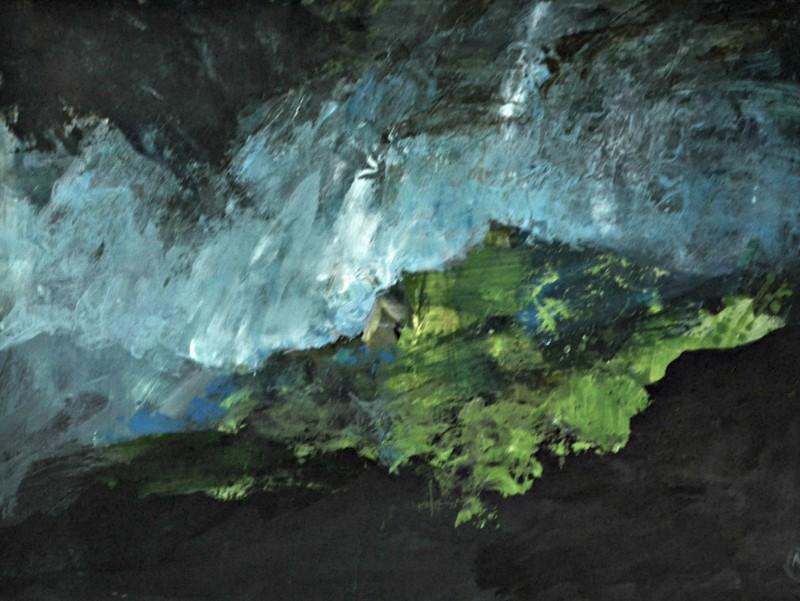 Colin Merrin RWS, Storm Over Gran Sasso 3