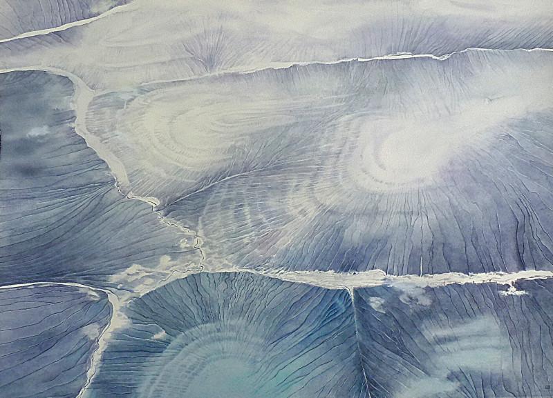 Liz Butler RWS, Over Siberia