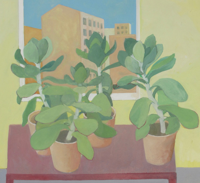 Wendy Jacob RWS, Succulent Succulents