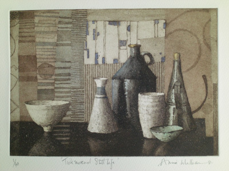 Annie Williams RWS RE, Tickmorend Still Life