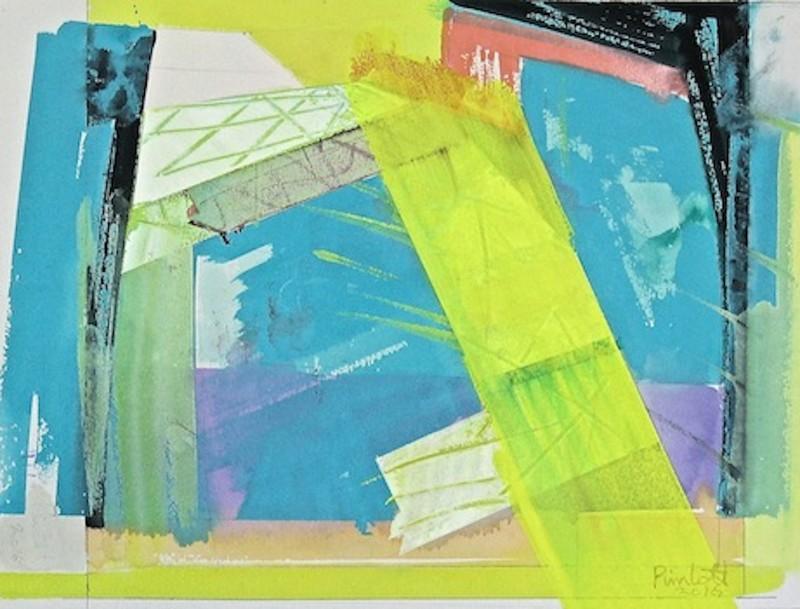 Geoffrey Pimlott RWS, Ai Cube Yellow