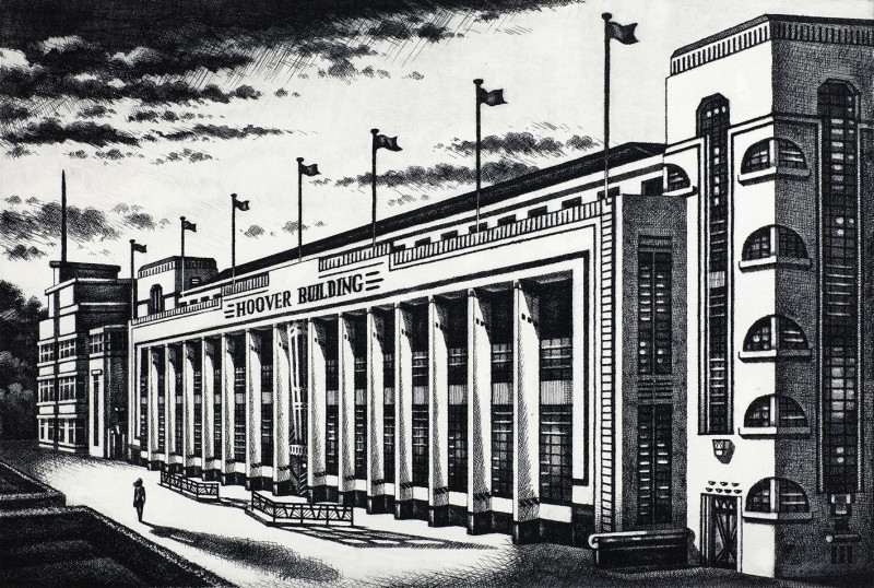 John Duffin RE, Hoover Building