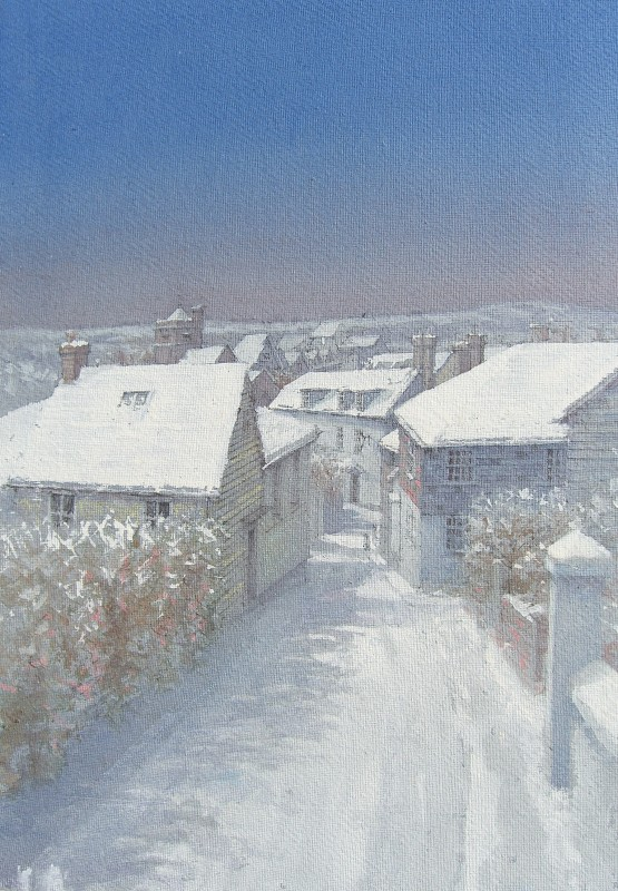 Dennis Roxby Bott RWS, Chapel Hills, Lewes