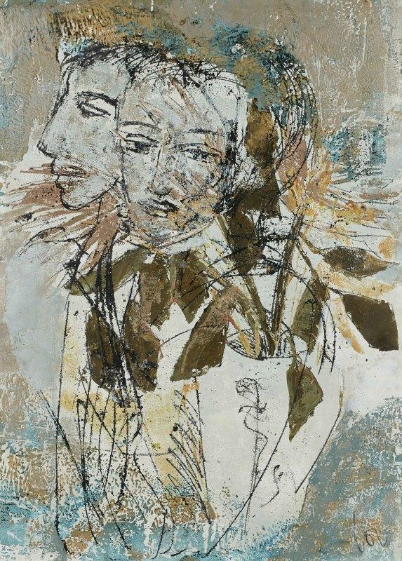 Louise Almon, The Gift I, 2017
