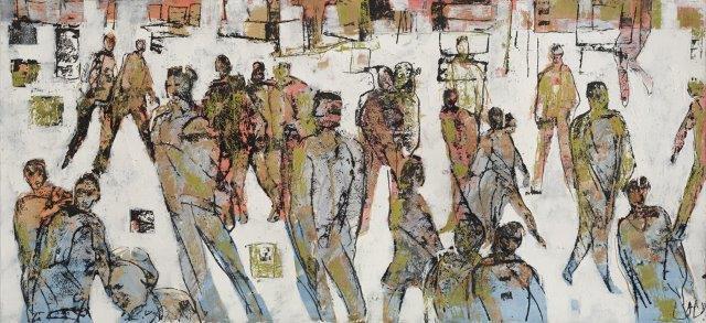 Louise Almon, Street Scene I, 2016