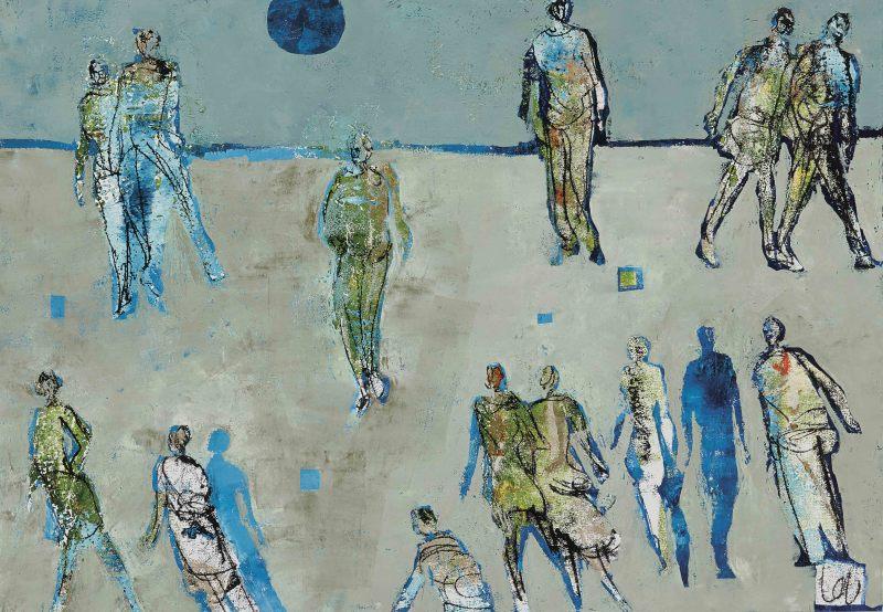 Louise Almon, Blue Moon, 2017